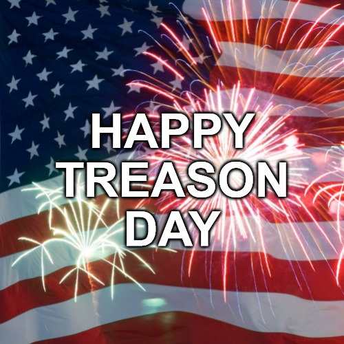 HAPPY TREASON DAY - header image