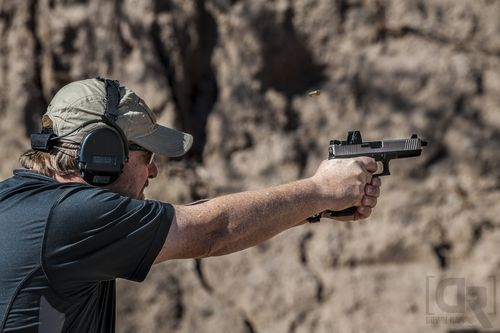 "Zeroing the Pistol - How to ""Shoot Them in the Face"" - header image"