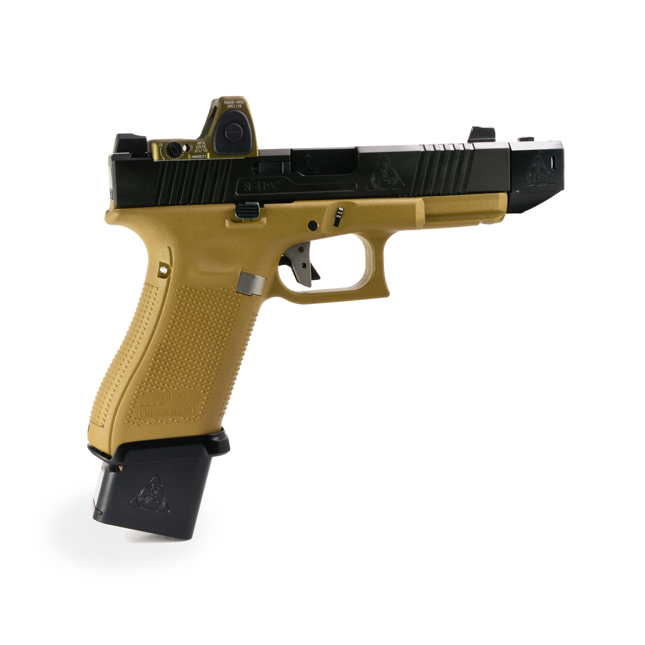 GUNFIGHTER MAGWELL FOR GLOCK 19X AND GLOCK 45 - header image